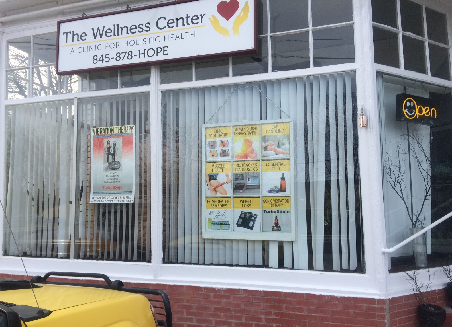 The Wellness Center Front Window
